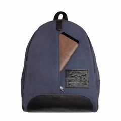 BACKPACK GIRONA  canvas blue