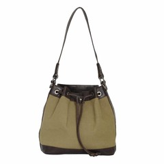 manbefair MISSY SHOULDER  BAG canvas olive green