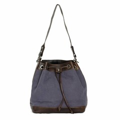 manbefair MISSY SHOULDER  BAG canvas blue