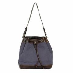 MISSY SHOULDER  BAG canvas blue