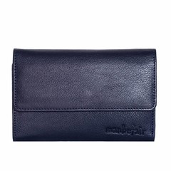 PURSE JONI blue leather
