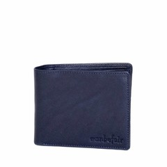 WALLET JAKE blue leather