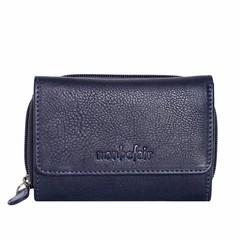 PURSE BELLA leather blue