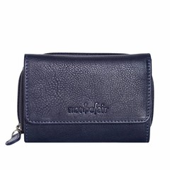 WALLET BELLA leather blue
