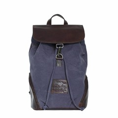 manbefair BACKPACK TERAMO canvas blue