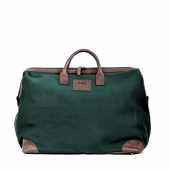 manbefair CATANIA TRAVEL BAG canvas green