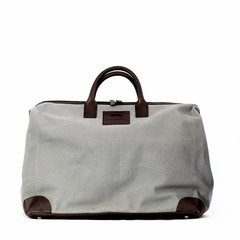 manbefair CATANIA TRAVEL BAG canvas grey