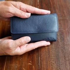 manbefair PURSE JONI leather blue