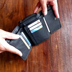 WALLET BELLA  leather black