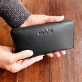 manbefair PURSE GRACE leather black