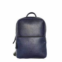 BACKPACK LOUISA leather blue