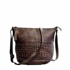 manbefair SHOULDER BAG NICE darkbrown