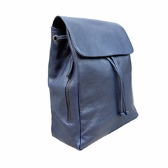 manbefair CITY RUCKSACK ALICE leather blue