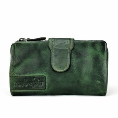 LADIES PURSE ELISA leather green