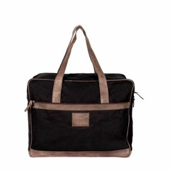 manbefair TRAVEL BAG BERLIN canvas black