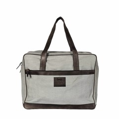 TRAVEL BAG BERLIN  canvas grey