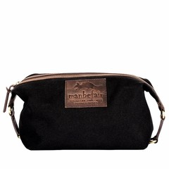 KARL TOILETRY BAG black canvas