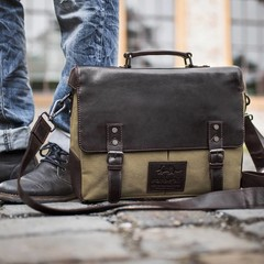 manbefair LAPTOPBAG ERIK canvas olive
