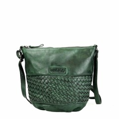SHOULDER BAG NICE leather green