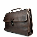 manbefair BUSINESS BAG ODIN leather dark-brown
