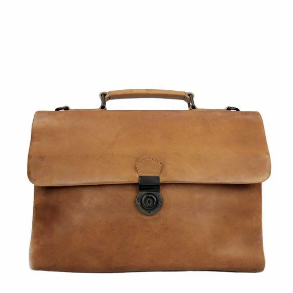 BUSINESS BAG ODIN tan