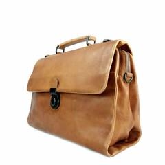 manbefair BUSINESS BAG ODIN leather cognac