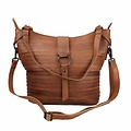 manbefair SHOPPER BERLIN leather reddish brown