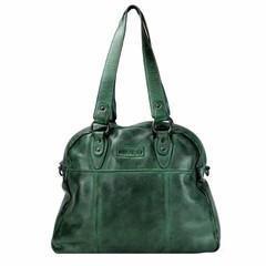 manbefair VINTAGE SHOPPER HARRIET Leder grün