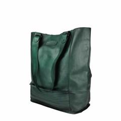 manbefair XL SHOPPER LORENA Leder grün