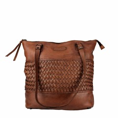 manbefair SHOPPER GÖTEBORG leather reddish brown
