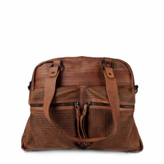 manbefair VINTAGE SHOPPER HENRIETTA leather reddish brown
