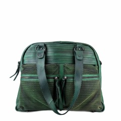 manbefair VINTAGE SHOPPER HENRIETTA leather green