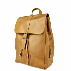 BACKPACK  ALICE leather cognac