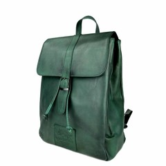 BACKPACK ALICIA leather green
