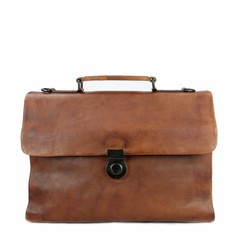 BUSINESS BAG ODIN leather brown