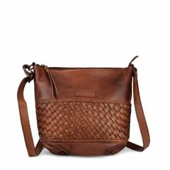 SHOULDER BAG NICE reddish brown