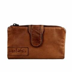 LADIES PURSE ELISA leather reddish brown