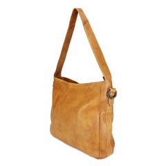 SHOPPER MELODY leather cognac