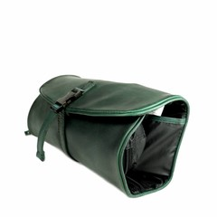 TOILET BAG  CLIFFHANGER leather green