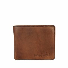 WALLET JAKE leather reddish brown
