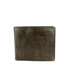 WALLET JAKE  leather smokey-brown