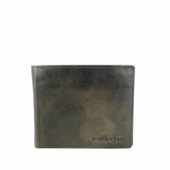 manbefair WALLET FINN  leather  smokey-brown