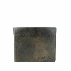 WALLET FINN  leather  smokey-brown