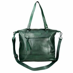 manbefair SHOPPER MAY leather green