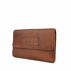 PURSE JONI  leather reddish brown