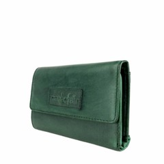 PURSE JONI leather green