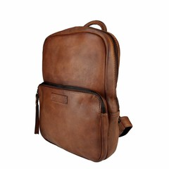 manbefair BACKPACK LOUISA leather  reddish brown