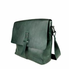 SHOULDER BAG DONNA leather green