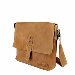 SHOULDER BAG DONNA leather cognac