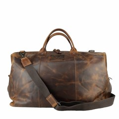 THOR TRAVEL BAG Leather  brown